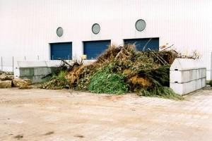 Betontrennsteine für Kompostwerke