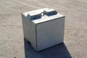 MEGABLOC Super Betonstein mit durchgehender Betonfeder in 60 cm Länge