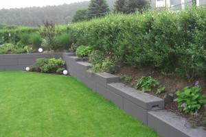 Gartengestaltung mit MEGABLOC