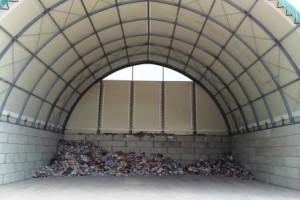 PPK Lagerung in der MEGABLOC Box mit Dach