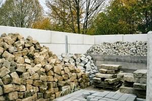 Betontrennsteine für Bauhöfe & Kommunen