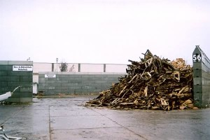 Betontrennsteine für Holz